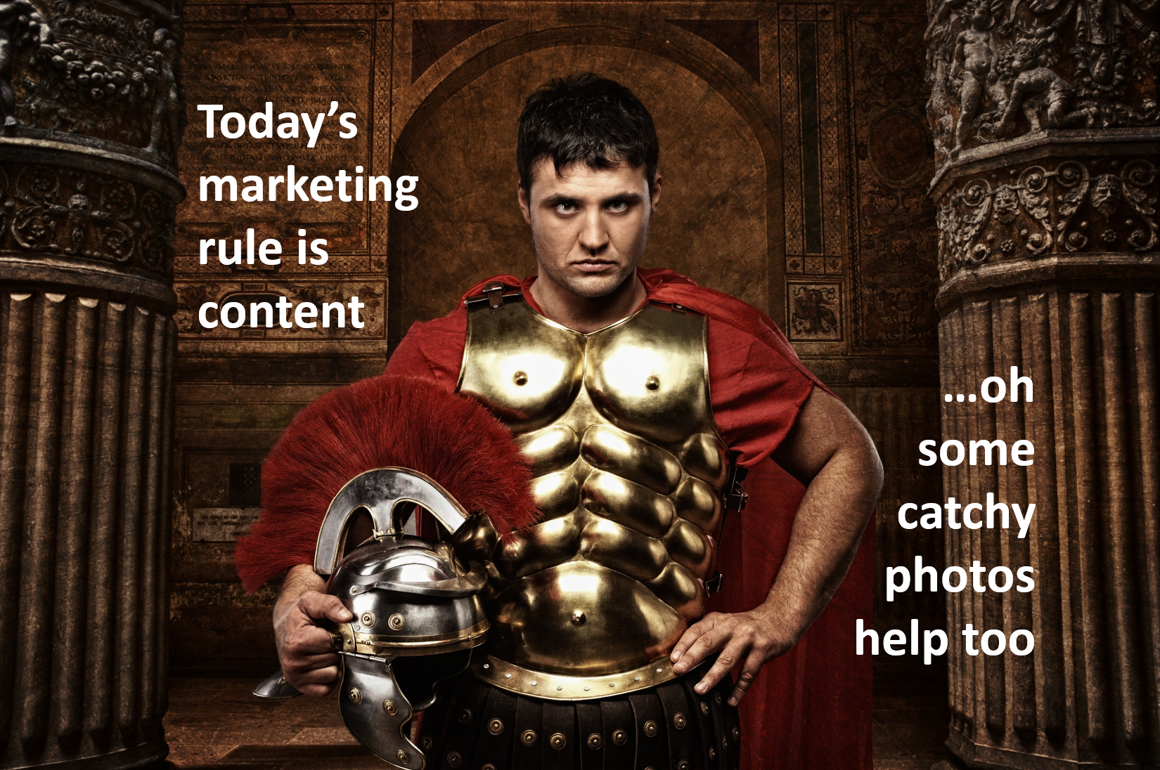 The Startup Business Sales Marketing Content