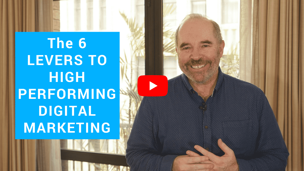 The 6 Levers Of High Performing Digital Marketing